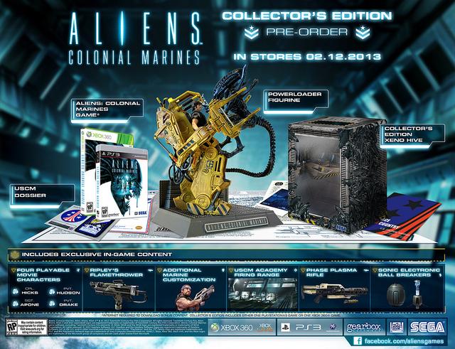 'Aliens: Colonial Marines' tendrá edición coleccionista