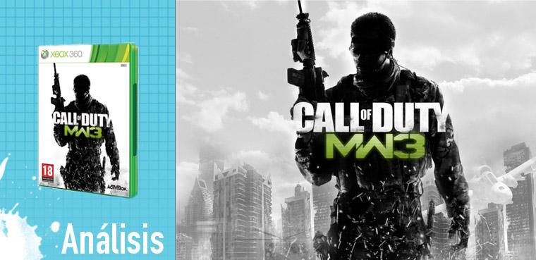 análisis Modern Warfare 3