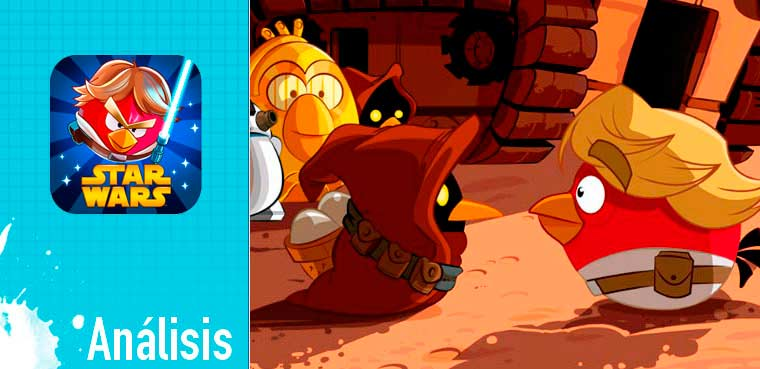 Angry Birds Star Wars para iOS, Android, PC,Ipad y Mac