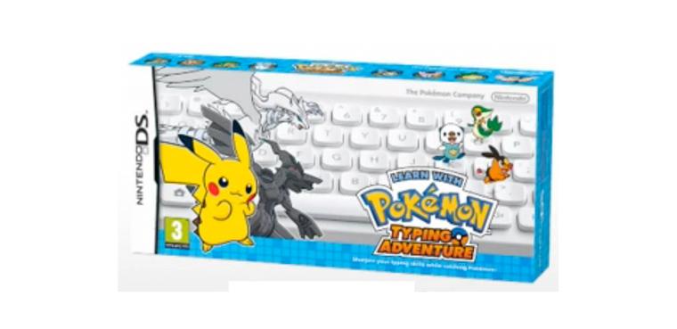 Captura más de 400 nuevos Pokémon con el teclado inalámbrico de Nintendo/ DS, 3DS