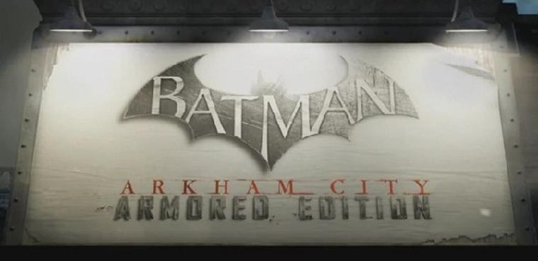 [E3 2012] 'Batman: Arkham City (Armored Edition)' llegará a Wii U con mejoras