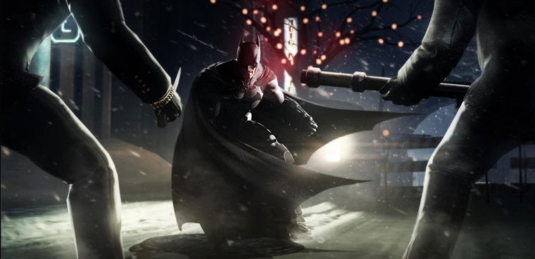 Batman Arkham Origins para PC, PS3, Wii U, Xbox 360