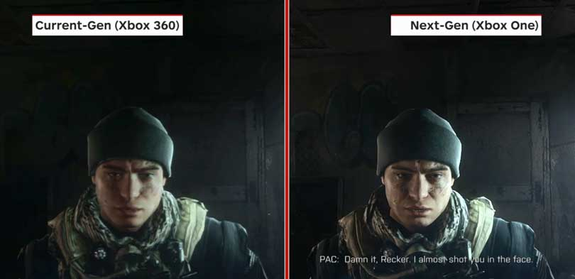 Diferencias Call of Duty Ghosts en Xbox One 360