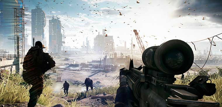Battlefield 4 para pc, xbox one y ps4