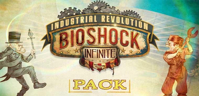 'Bioshock Infinite' + Bioshock + DLC Industrial Revolution / PC, PS3, Xbox 360