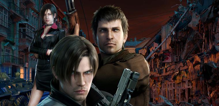 Resident Evil: Damnation - película