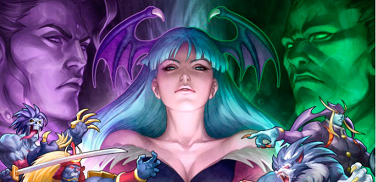Darkstalkers Resurrection para ps3, xbox 360