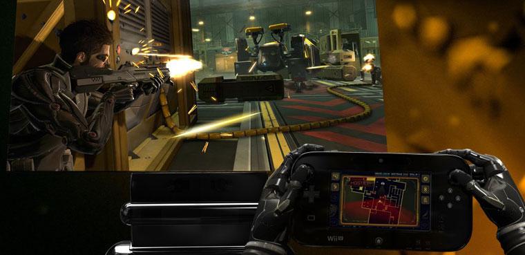 Deus Ex: Human Revolution Director's Cut para Wii U