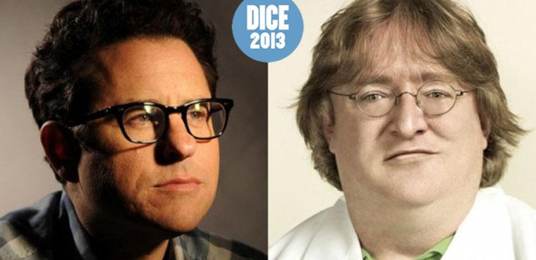 DICE 2013: J.J. Abrams y Gabe Newell
