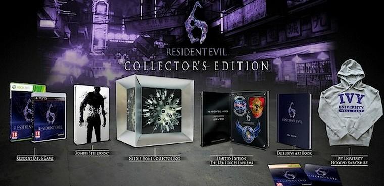 Edición coleccionista de Resident Evil 6