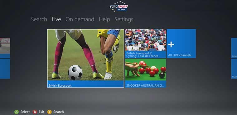 Eurosport Xbox 360