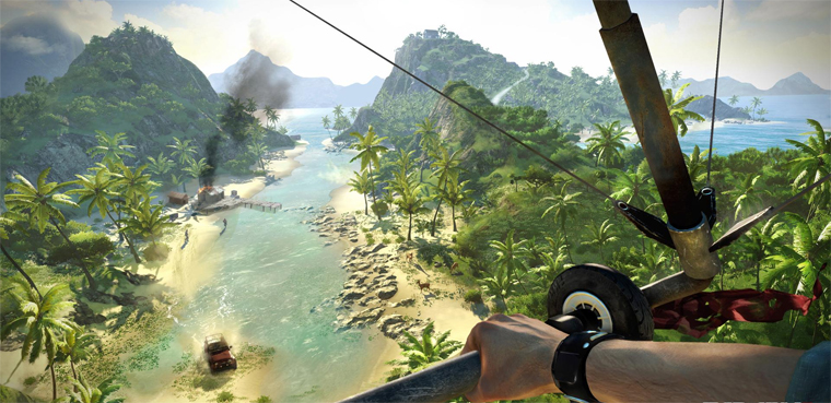 'Far Cry 3' nos muestra su mundo abierto / PC, Xbox 360, PS3