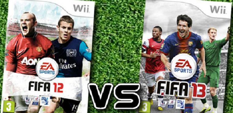 Fifa 12 vs Fifa 13 - Wii