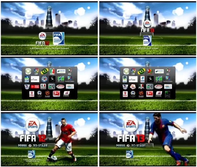 FIFA 13 vs Fifa 12 - Wii