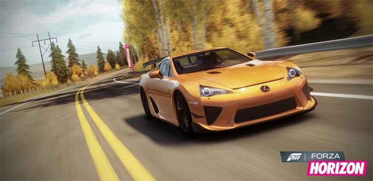 'Forza Horizon' : Recaro Car Pack de Enero / Xbox 360
