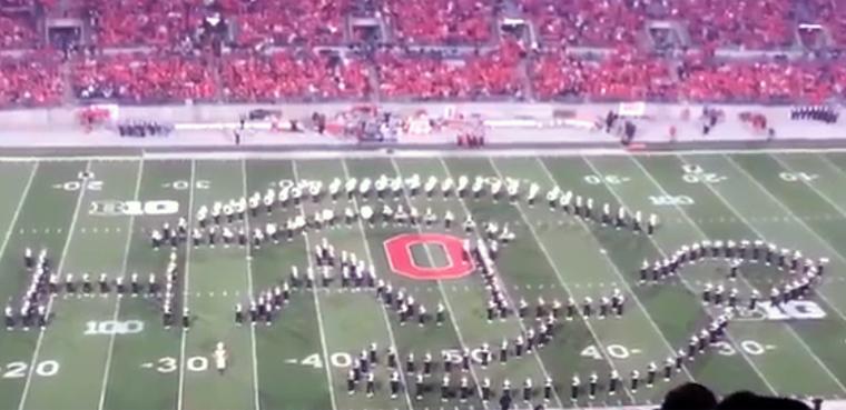Banda de Ohio homenaje al gaming Industria fútbol