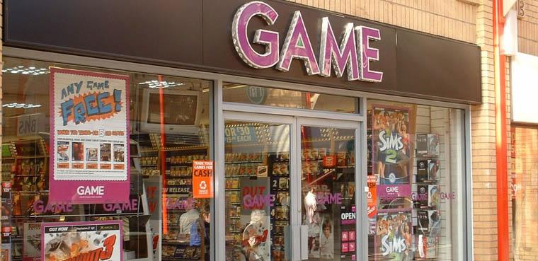 Game cerrará 35 tiendas en UK