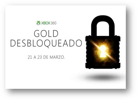 Xbox Live Gold Desbloqueado