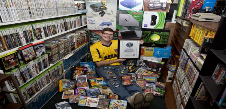 Subastada la colección de videojuegos más grande del mundo.
