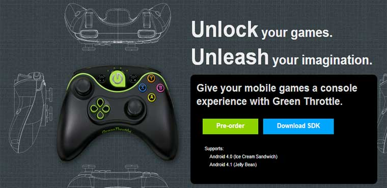 'Green Throttle Games' conecta Android y TV