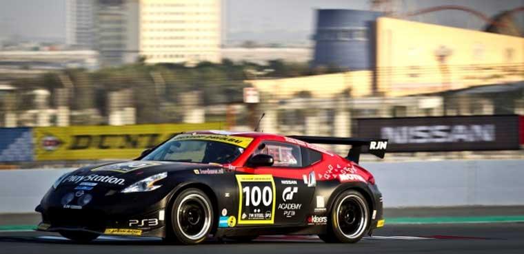 'GT Academy' sube al podio en las 24 h de Dubai / PS3