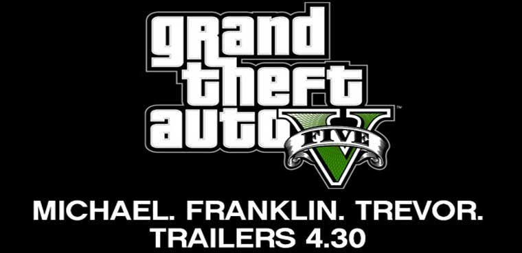GTA V nos presenta a Michael, Trevor y Franklin el 30 de Abril / PS3, PC, Xbox 360