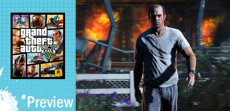 GTA V para PS3, PS4, Xbox 360, Xbox One
