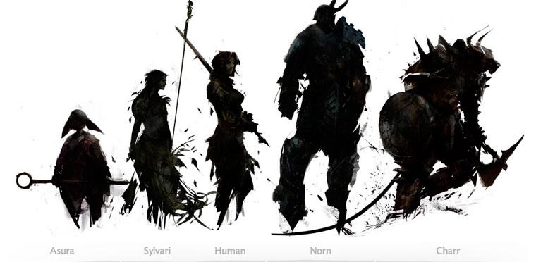 Toda la información sobre las razas y profesiones de 'Guild Wars 2'