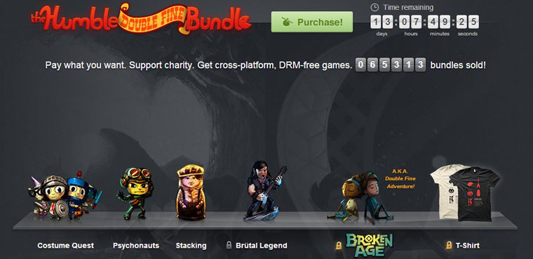 Humble Bundle: Double Fine