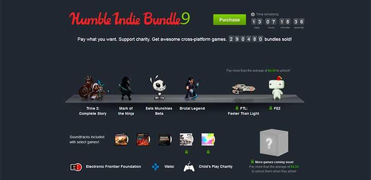 Humble Indie Bundle