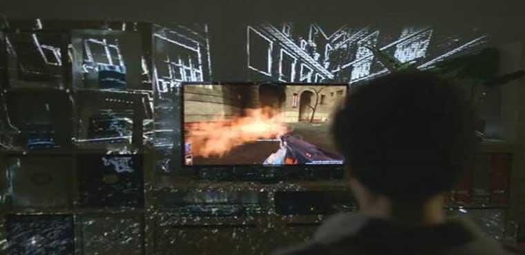 'IllumiRoom' convierte tu salón en un videojuego