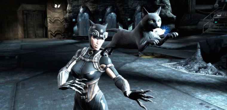 [Gamescom 2012] Catwoman en 'Injustice: Gods Among Us'