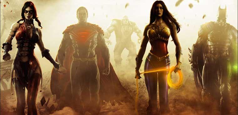 Injustice: Gods Among Us para PC, PS3, Xbox 360