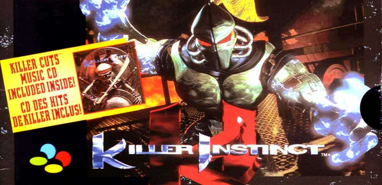 Killer Instinct Super NES