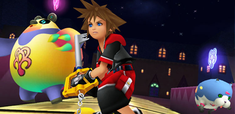 kingdom Hearts 3d-3DS
