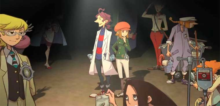 Layton Brothers Mystery Room llega a iPhone, iPad y iPod