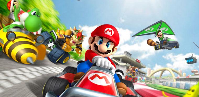 Mario kart 7-3DS