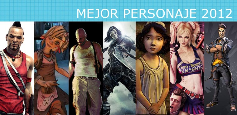 Mejor Personaje 2012