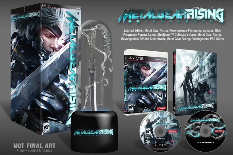 Metal Gear Rising Ediciones limitadas PS3 Xbox 360