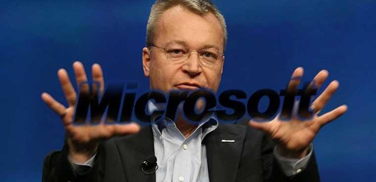 Stephen Elop Microsoft
