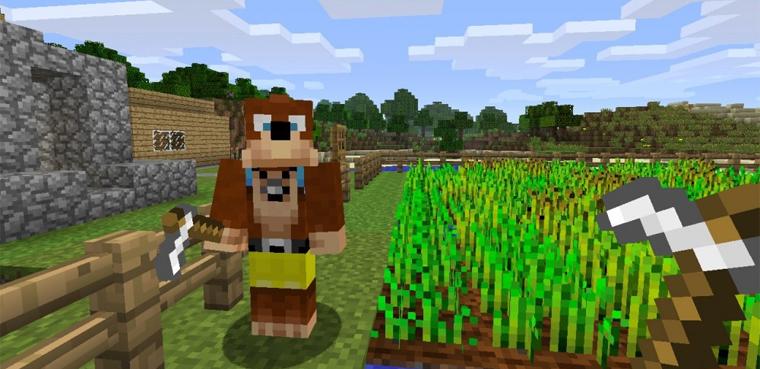 'Minecraft' Actualización 8 para Xbox 360