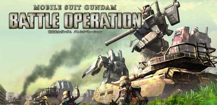 Mobile Suit Gundam: Battle Operation puede llegar a Occidente