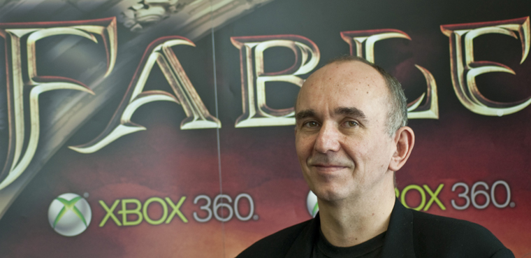 Peter Molyneux y Fable