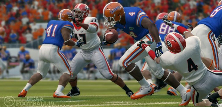 NCAA Football 14 para PS3 y Xbox 360