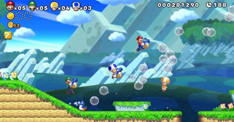 New Super Mario Bros U - Wii U