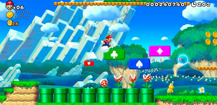 New Super Mario Bros U para wii u