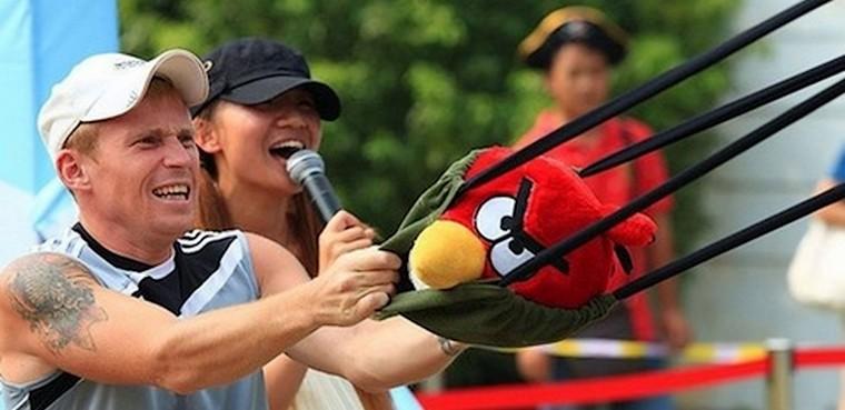Zona temática Angry Birds