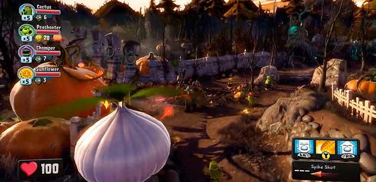 'Plants vs Zombies: Garden Warfare' te prepara para el baile