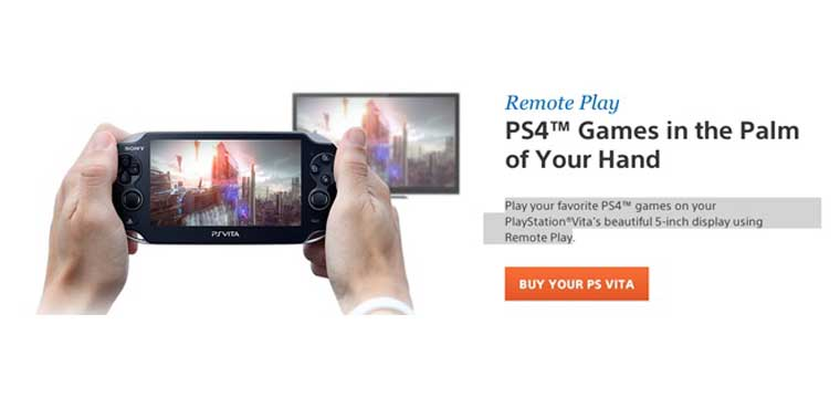 PS4 Vita