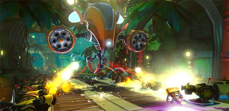 'Ratchet & Clank' regresan hoy con nuevas aventuras a PS3